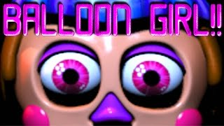 - Five Nights at Freddy s 2 BALLOON GIRL EASTER EGG