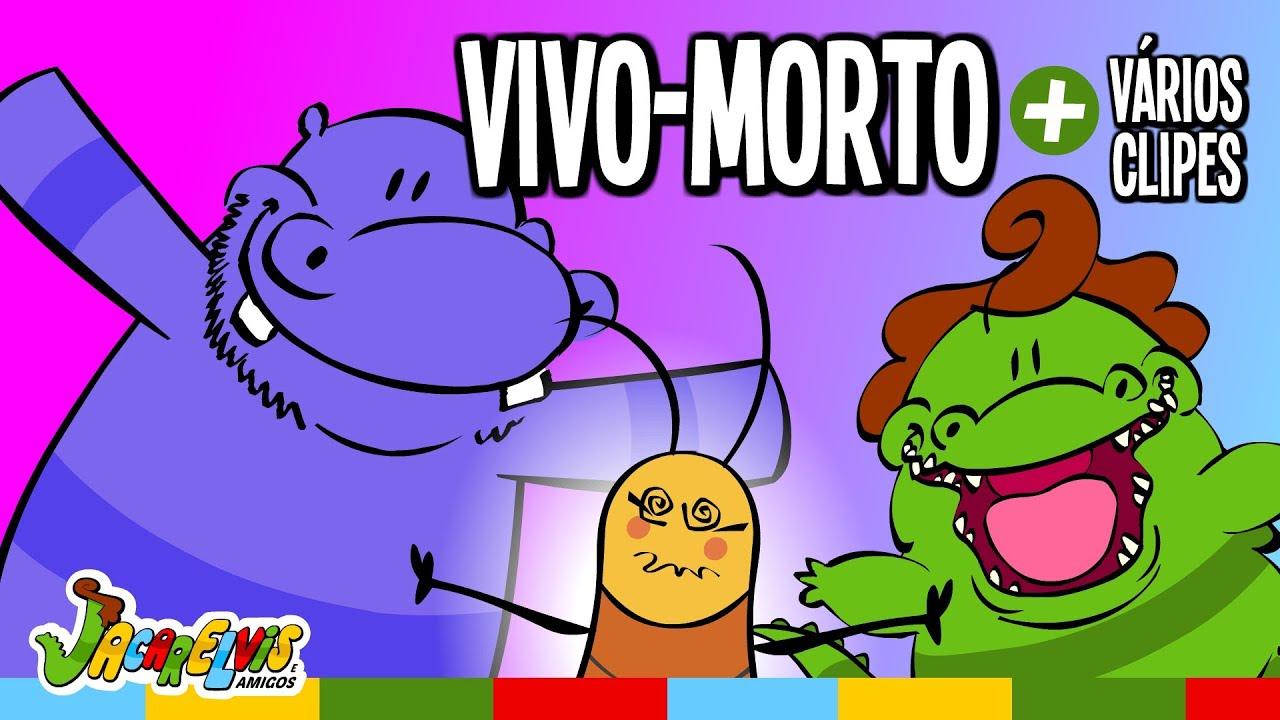 Música Infantil: VIVO, MORTO, VIVO + outros clipes do Jacarelvis e Amigos