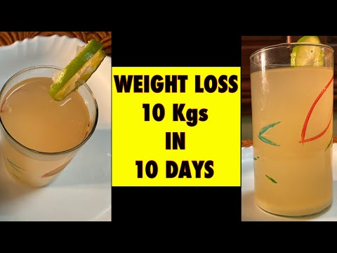 How to Lose weight fast 10 kgs in 10 Days | Weight lose drink | Detox drink