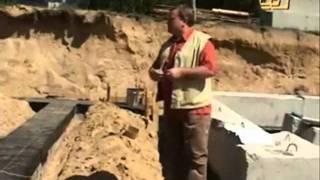 Строительство фундамента из блоков ФБС. Часть 2(, 2011-08-10T18:38:48.000Z)