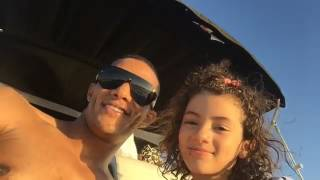 محمد رمضان مع ابنته الكبرى