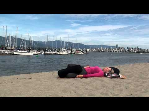 how you can do supine spine twist supta matsyendrasana