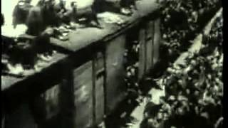 Mass Migration from Nanking  1937