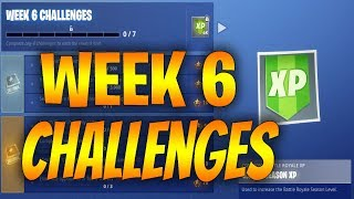 Fortnite SEASON 7 - WEEK 6 CHALLENGES Fuite