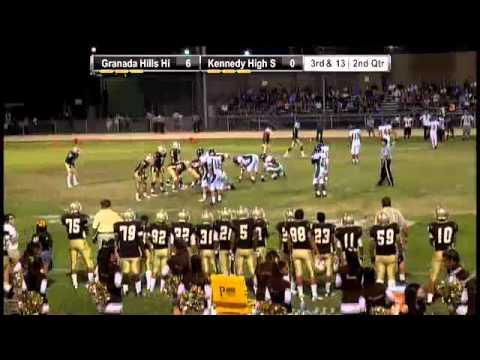 Football- Granada Hills vs. Kennedy