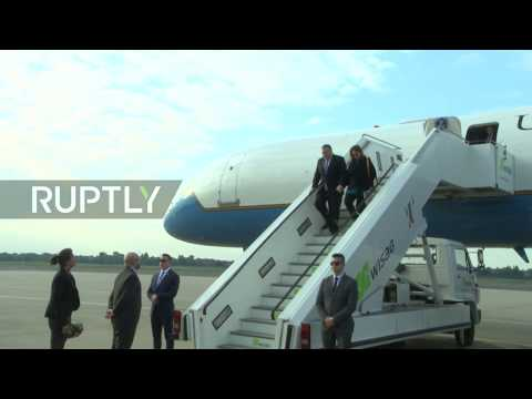 Germany: Pompeo arrives in Berlin as first stop of European tour