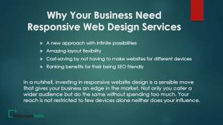 Why your business need responsive web design services?(Get high class beautiful website design to attract online customers for your business to make your online presence by professional designers in Netscape India., 2016-05-19T12:42:25.000Z)