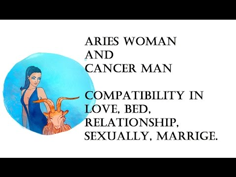 aries woman dating a cancer man