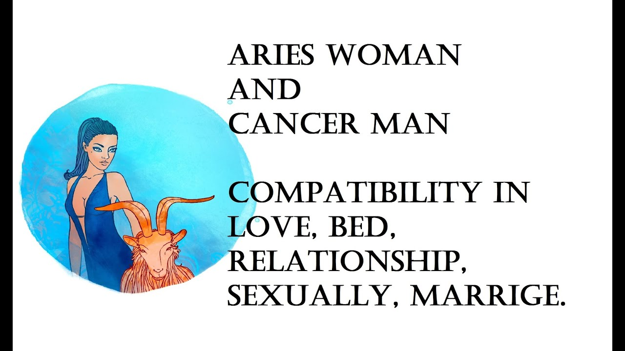 Aries Woman And Cancer Man Compatibility In Love, Bed -5699