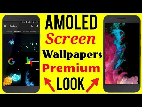 Amoled Wallpapers Android Premium Look On Android Phone Dark