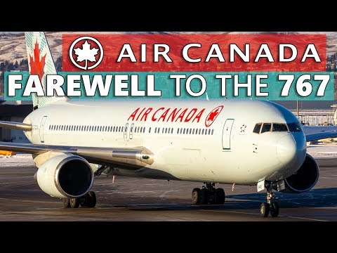 FAREWELL To Air Canada's 767! Signature Class Calgary To Toronto