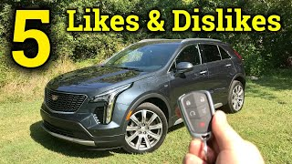 Life With Cadillac's Smallest CUV   Cadillac XT4 Likes & Dislikes