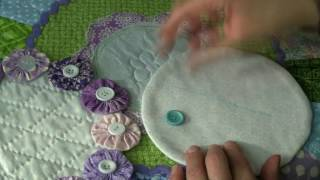 How to sew on buttons