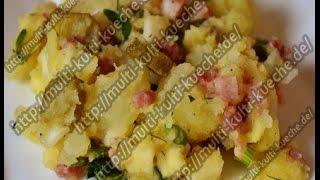 Kartoffelsalat Rezept   Klassischer Kartoffelsalat   Bayrischen Kartoffelsalat