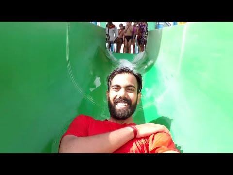 WOW Water Park Noida | Worlds Of Wonder | Gopro Footage