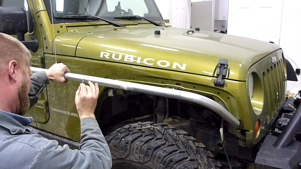 Diy Jk Tube Fenders Part 1 Youtube