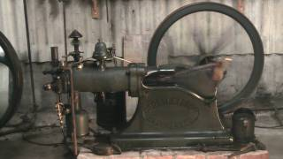 Gas  engine,Crossley Otto, Otto slide valve.