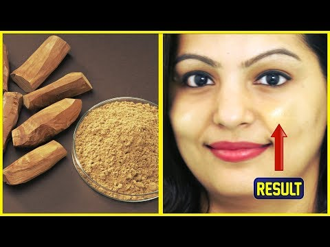Sandalwood Face Pack - Get Fair Glowing Beautiful Skin - Best Homemade Face Pack