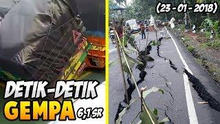 DETIK - DETIK GEMPA BUMI 6,1 SKALA RICHER DI PELABUHAN MERAK!!(23 JANUARI 2018)