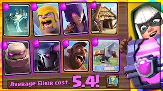 5.4 RETRO CHALLENGE DECK? Clash Royale Heavy Troll Deck
