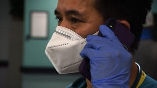 Virus ravages poverty-stricken US border town