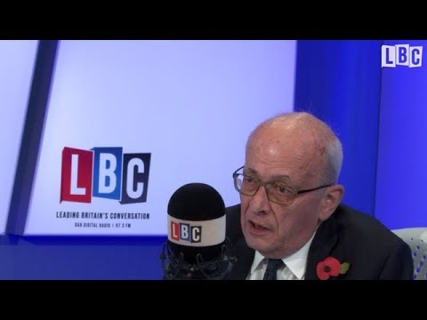 Stopping Brexit: James O'Brien interviews Lord Kerr the author of Article 50