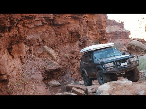 Lockhart Basin Offroad Route - The First Mile