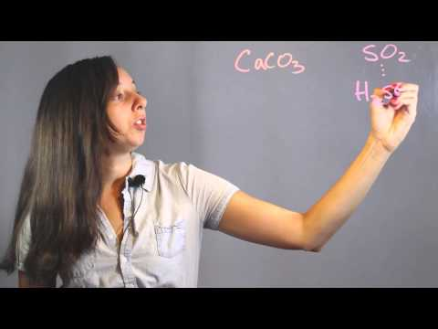 Chemical Equation For Limestone With Sulphur Dioxide : Chemistry Lessons
