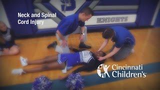 Cincinnati Sports Medicine - Neck & Spinal Cord Injury   |  Cincinnati Children's