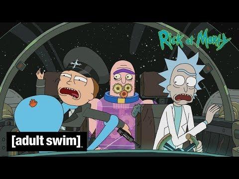 Rick & Morty 🇫🇷   Bande-annonce saison 4 en exclu sur Adult Swim !