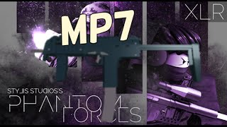 ROBLOX PHANTOM FORCES MP7 GAMEPLAY