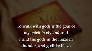 """TOF - The Trinity"" - THERION - Lyrics - HD - 2007"