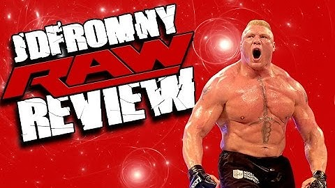 wwe raw 91514 review  the worst raw of 2014  night of champions 2014 go home show