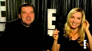 Brendan Coyle and Joanne Froggatt Downton Abbey Interview Thumbnail