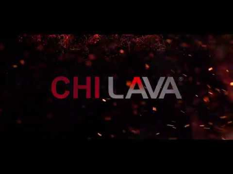 "CHI Lava 1"" Volcanic Lava Ceramic Hairstyling Iron - NEW Innovation"