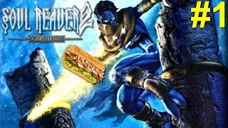 Soul Reaver 2 PS2 Gameplay #1 [Raziel Looks Hungry As F*ck!]