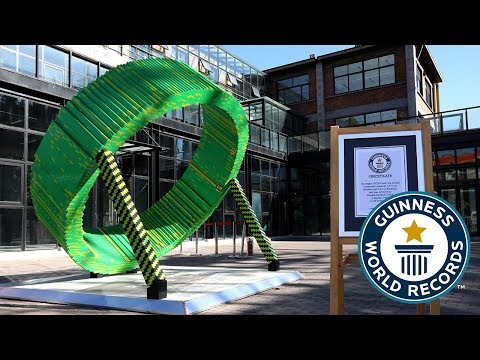 Largest LEGO® ring sundial (supported) – Guinness World Records Day 2018