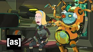 Space Beth and the Rebel Doctor | Rick and Morty | adult swim