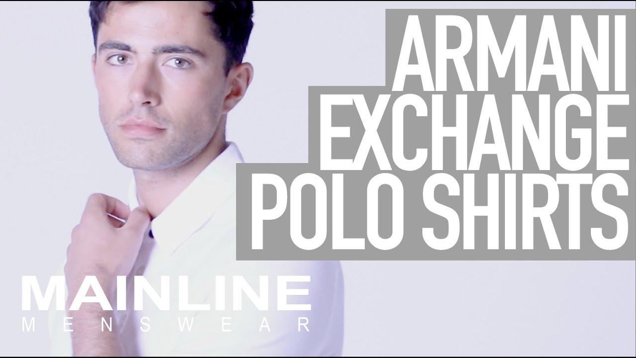 54a585df34d Armani Exchange Polo Shirts