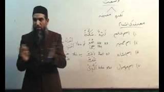 Arabi Grammar Lecture 07 Part 05   عربی  گرامر کلاسس