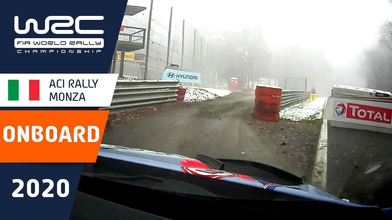 WRC - ACI Rally Monza: Shakedown ONBOARD Neuville