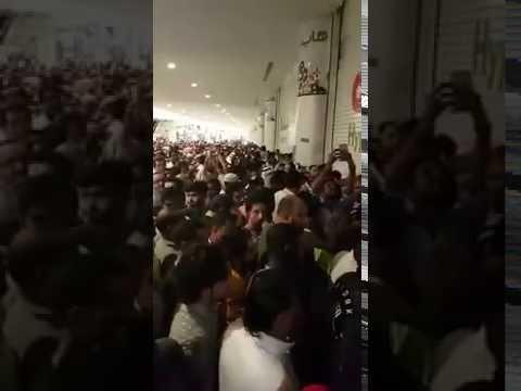 Hyper Panda هجوم على هايبر بندة jeddah 29 November 2016