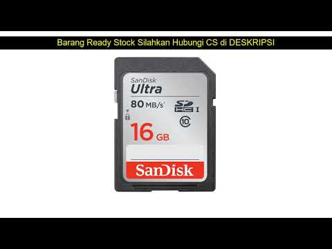 Review Terbaru Sandisk Ultra SDHC Class 10 80MBps - 16GB