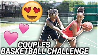 COUPLES BASKETBALL CHALLEGNE!!! **HILARIOUS**