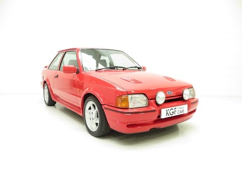 A Spine-Tingling Ford Escort RS Turbo with Just Two Owners and Full History from New - SOLD!