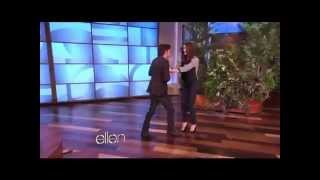 Ashley Greene and Jackson Rathbone Dancing on Ellen