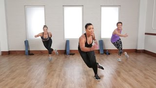 burn 500 calories in 45 minutes with this cardio and sculpting workout class fitsugar
