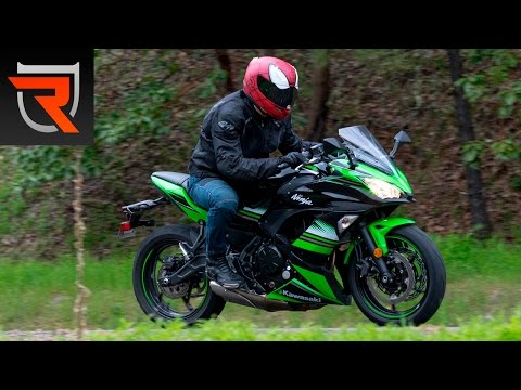 2017 Kawasaki Ninja 650 ABS First Test Review Video | Riders Domain