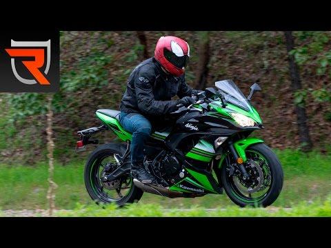 2017 Kawasaki Ninja 650 ABS First Test Review Video | Riders Domain