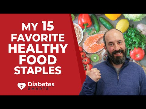 My 15 Favorite Healthy Food Staples